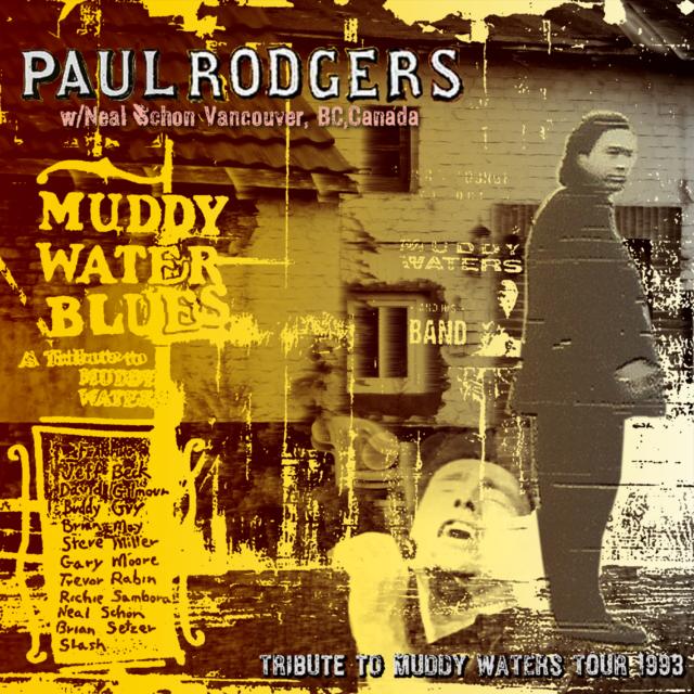 コレクターズCD ポールロジャース 1993年ノースアメリカンツアー