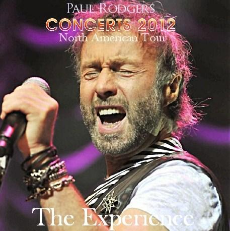 コレクターズCD ポール・ロジャース(Paul Rodgers) 2012年北米ツアー
