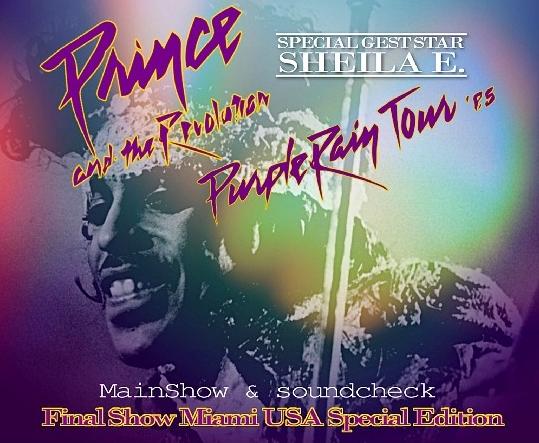 コレクターズCD プリンス1985年アメリカツアー