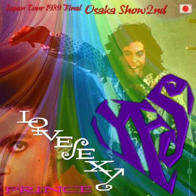 コレクターズCD Prince - Lovesexy Japan Tour 1989 Final