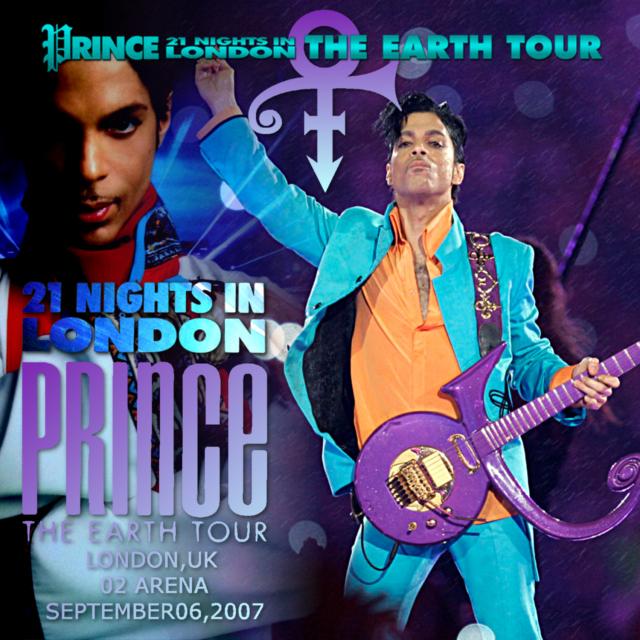 コレクターズCD プリンス2007年ヨーロッパツアー(The Earth Tour)