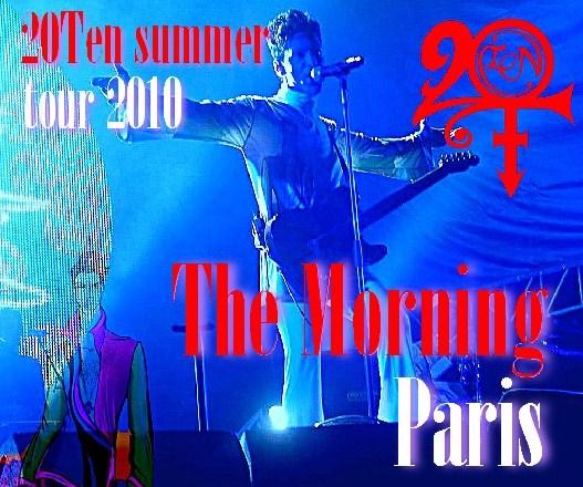 コレクターズCD プリンス(Prince)2010年ヨーロッパツアー New Morning Club Paris