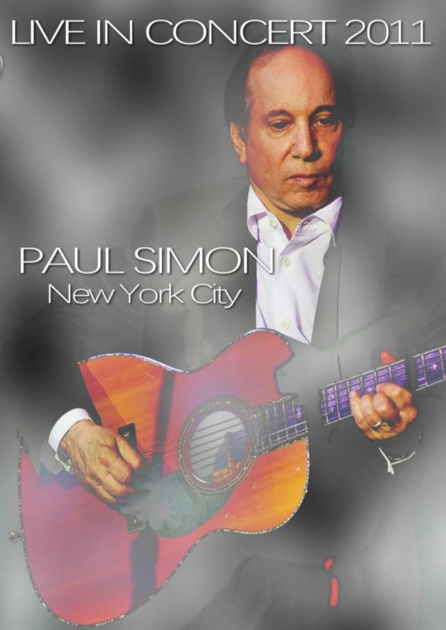 コレクターズDVD PAUL SIMON - LIVE IN CONCERT 2011