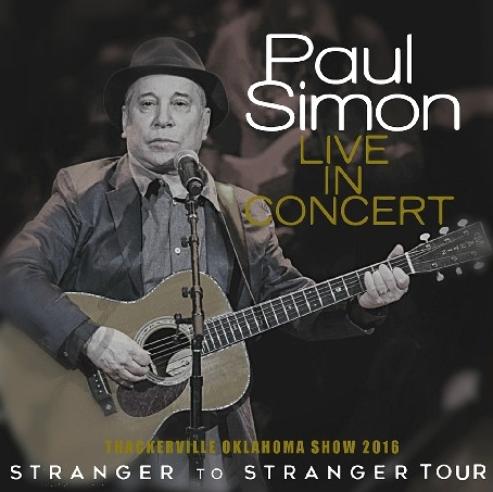 コレクターズCD ポールサイモン 2016年アメリカツアー Stranger to Stranger Tour