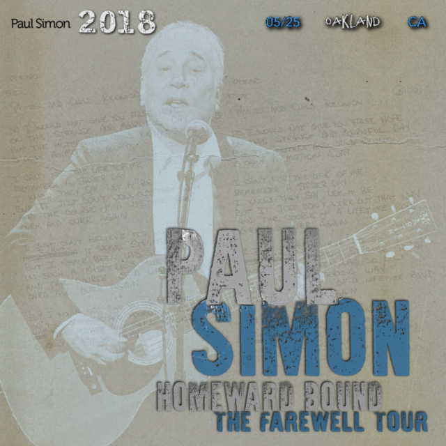 コレクターズCD Paul Simon - Homeward Bound - The Farewell Tour 2018
