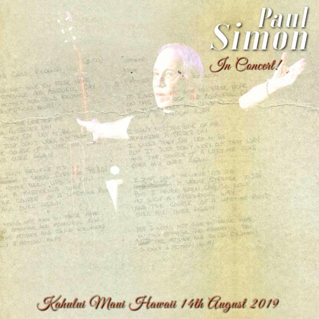 コレクターズCD Paul Simon - In Hawaii 2019