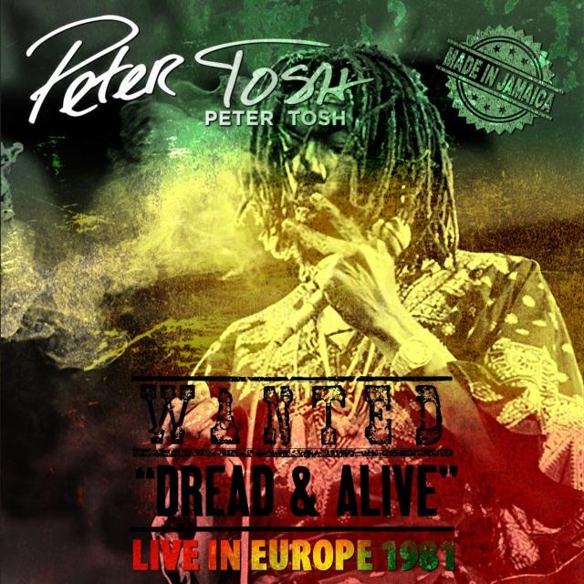 コレクターズCD Peter Tosh - Live in Europe 1981
