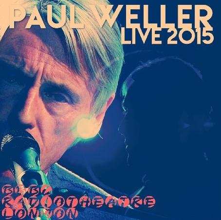 コレクターズCD Paul Weller (ポール・ウェラー)2015年 ヨーロッパツアー