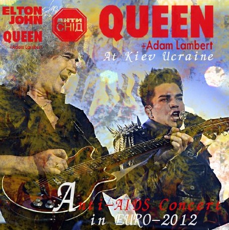 コレクターズCD Queen + Adam Lambert - Anti-AIDS Concert in EURO-2012