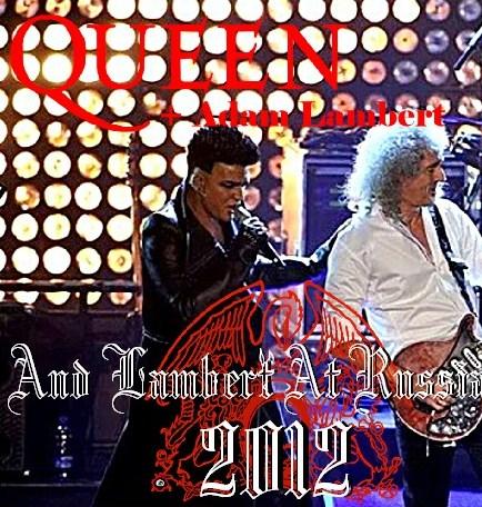 コレクターズCD クィーン+アダム・ランバート  2012年 ロシア