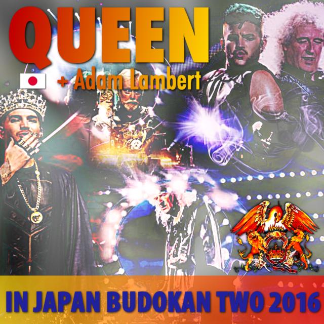 コレクターズCD Queen + Adam Lambert - Japan Tour 2016