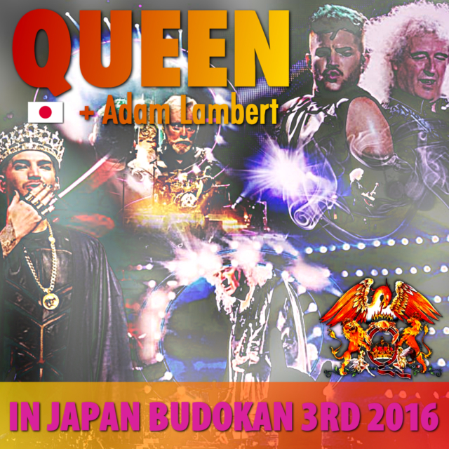 コレクターズCD Queen + Adam Lambert - Japan Tour 2016 Final