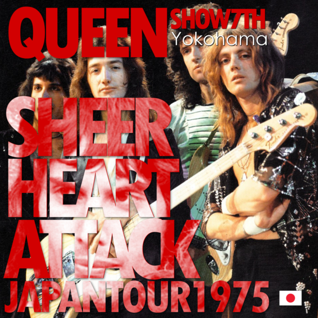 コレクターズCD Queen - Sheer Heart Attack Japan Tour 1975