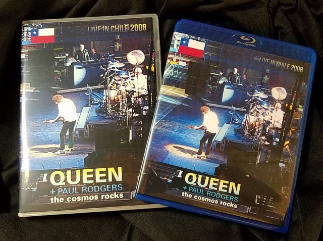 コレクターズBlu-ray  Queen + Paul Rodgers - Cosmos Rocks Tour 2008
