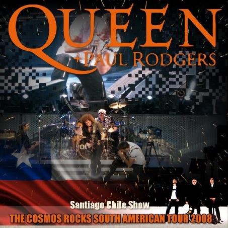 コレクターズCD クイーン+ポール・ロジャース (Queen + Paul Rodgers) 2008年南米ツアー