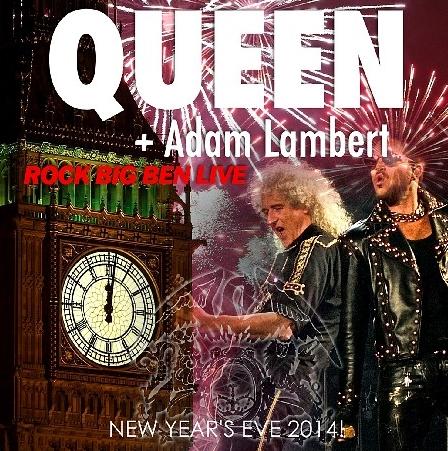 コレクターズCD クィーン+アダム・ランバート 2014年12月31日 ロンドン