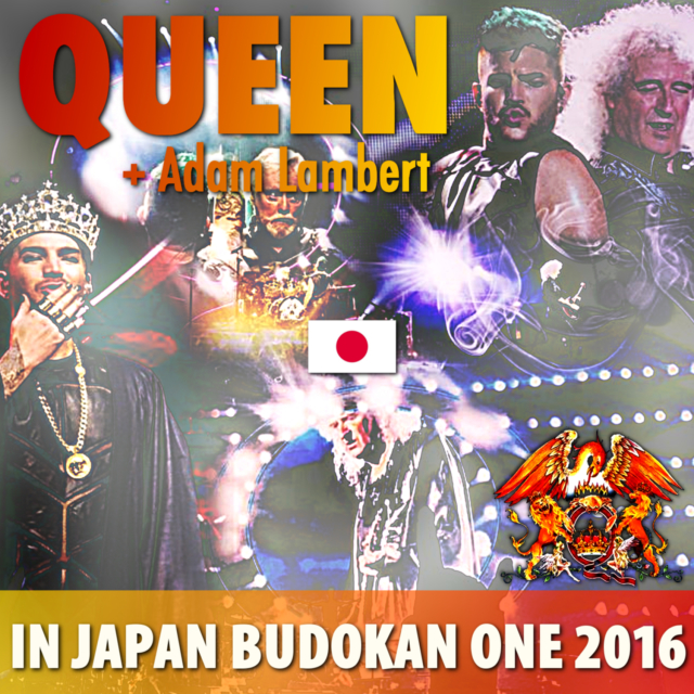 コレクターズCD Queen + Adam Lambert - Japan Tour 2016