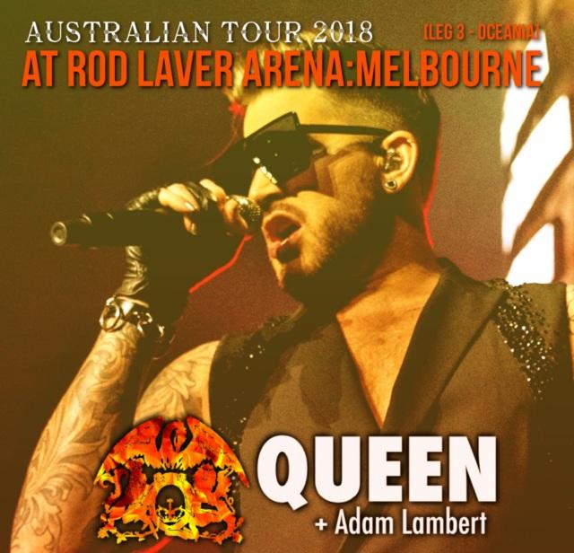 コレクターズCD Queen Plus Adam Lambert - Australian Tour 2018