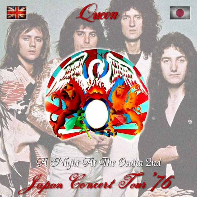 コレクターズCD Queen - A Night At the Opera Japan Tour 1976