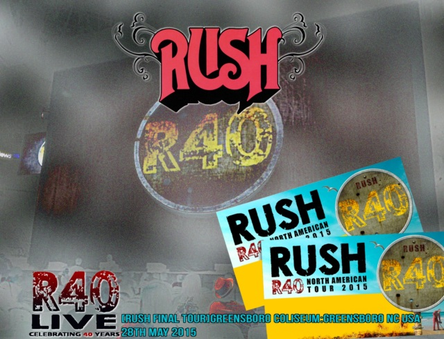 コレクターズCD Rush - R40 Live: 40th Anniversary Tour 2015
