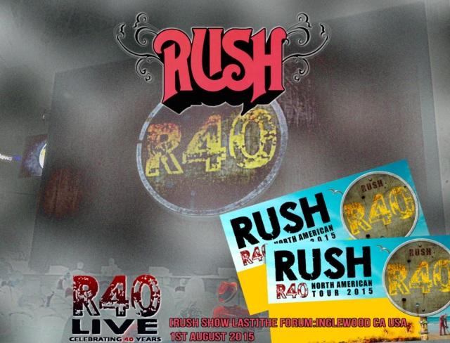 コレクターズCD Rush - R40 Live: 40th Anniversary Tour 2015 Final