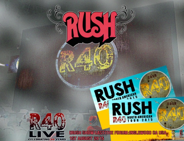コレクターズCD Rush - R40 Live: 40th Anniversary Tour 2015 Final
