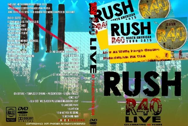 コレクターズCD ラッシュ 2015年 40周年記念ツアー