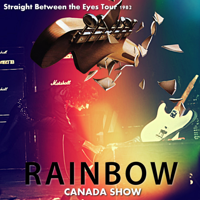 コレクターズCD Rainbow - Straight Between the Eyes Tour 1982