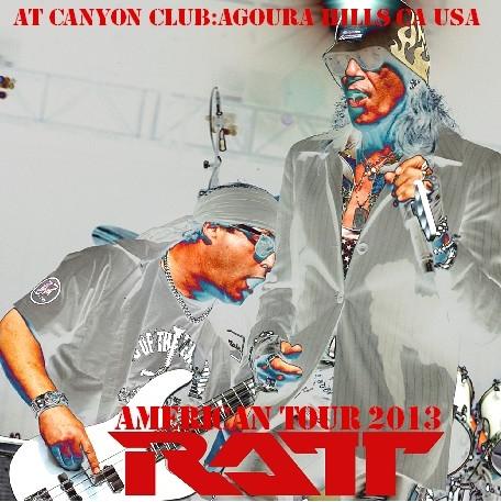 コレクターズCD  ラット(Ratt)2013年アメリカツアー