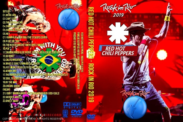 コレクターズDVD  Red Hot Chili Peppers - Rock in Rio 2019