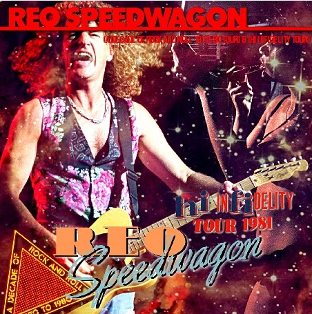コレクターズCD REO Speedwagon - Hi Infidelity Tour 1981