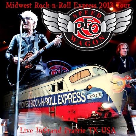 コレクターズCD REOスピードワゴン(REO Speedwagon)2013年アメリカツアー (Midwest Rock-n-Roll Express 2013 Tour)