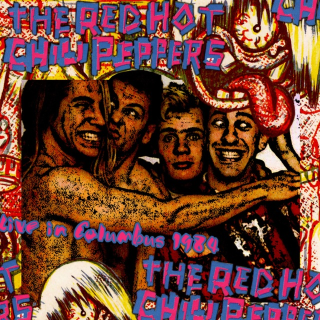 コレクターズCD Red hot chili peppers - USA Tour 1984