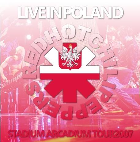 コレクターズCD レッドホットチリペッパーズ 2007年ヨーロッパツアー