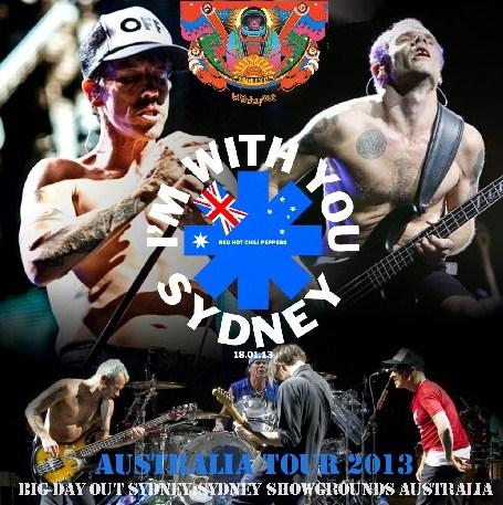 コレクターズCD レッド・ホット・チリ・ペッパーズ  2013年オーストラリアツアー
