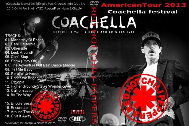 コレクターズCD レッド・ホット・チリ・ペッパーズ 2013年アメリカツアー