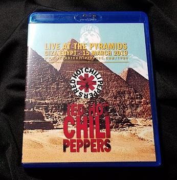レッド・ホット・チリ・ペッパーズ 2019年3月15日エジプトPro Blu-ray