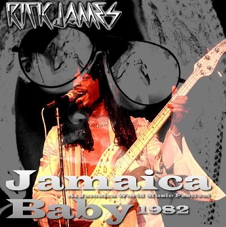 コレクターズCD リック・ジェームス 1982年 ジャマイカ