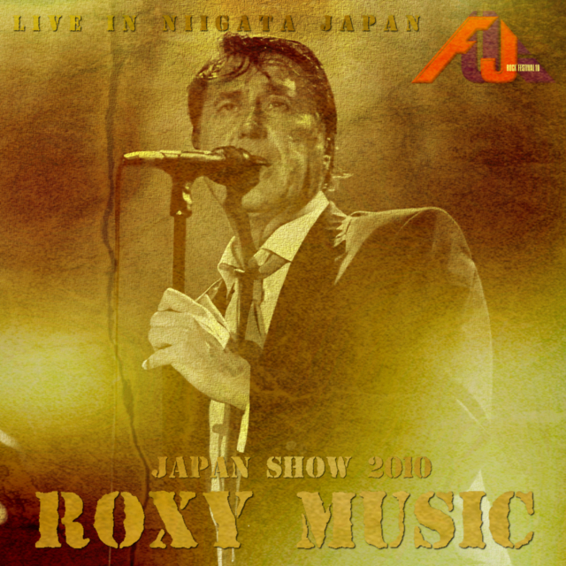 コレクターズCD Roxy Music- 2010 Japan Tour