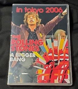 コレクターズDVD The Rolling Stones - A Bigger Bang Japan Tour 2006