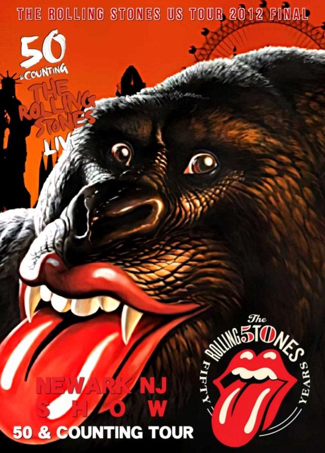 コレクターズDVD The Rolling Stones - 50 & Counting Tour 2012 Final