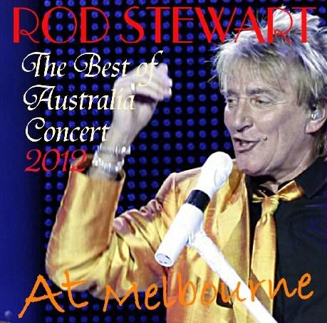 コレクターズCD ロッド・スチュワート(Rod Stewart) 2012年オーストラリア ツアー