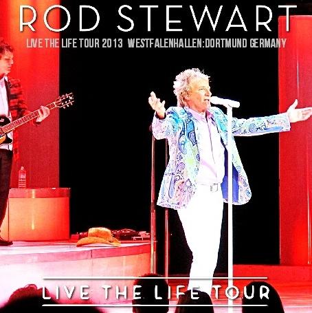 コレクターズCD ロッド・スチュワート 2013年ヨーロッパツアー(Live The Life Tour)