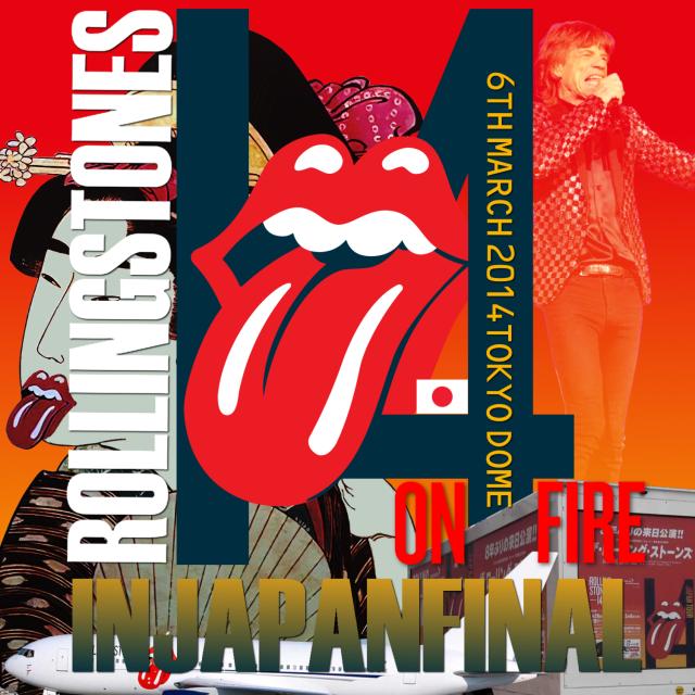 コレクターズCD The Rolling Stones - 14 on Fire Japan Tour 2014
