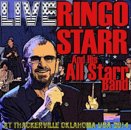 コレクターズCD リンゴ・スター(Ringo Starr)and His All Starr Band 2014年アメリカツアー