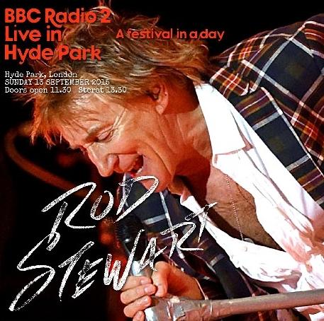 コレクターズCD  ロッド・スチュワート 2015年 ロンドン公演 BBC Radio 2
