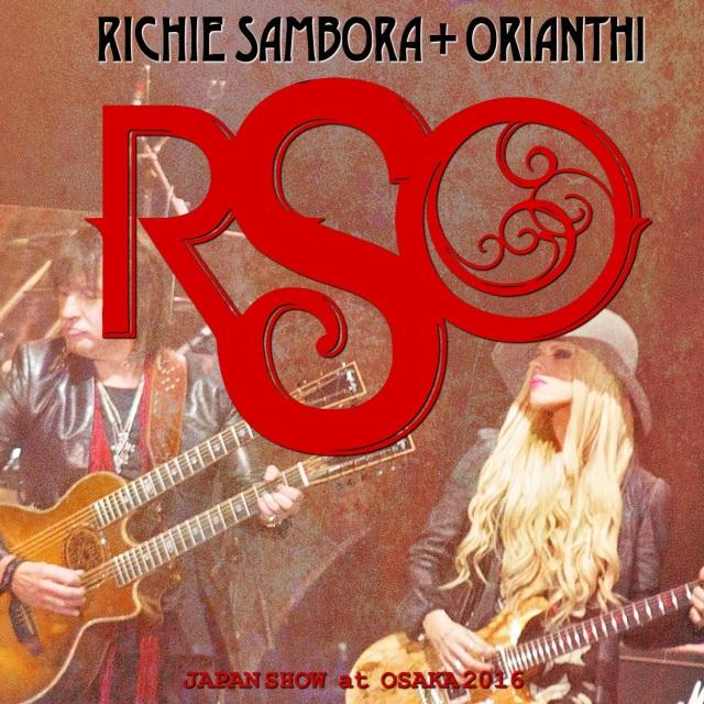 コレクターズCD Richie Sambora - Osaka Japan 2016