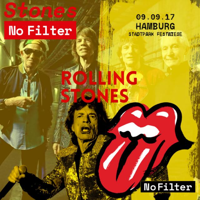 コレクターズCD ローリングストーンズ2017年ヨーロッパツアー(No Filter Tour)