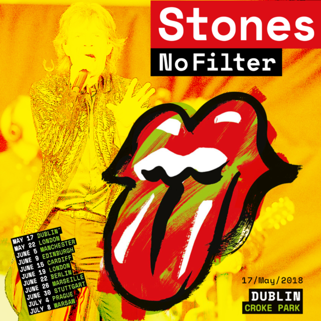 コレクターズCD  Rolling Stones - No Filter Tour 2018