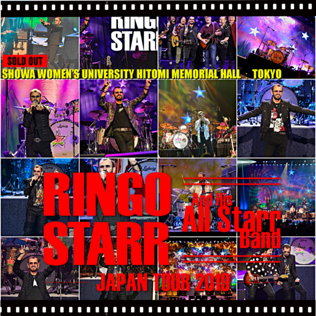 コレクターズCD Ringo Starr and His All Starr Band - Japan Tour 2019